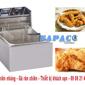 Bếp chiên gà rán - thiết bị khách sạn - 0909214842