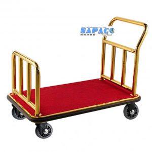 Xe đẩy hành lý vàng J02