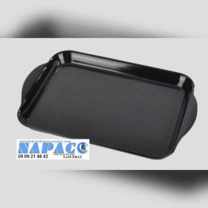 Khay nhựa đen có tay cầm CK1152BK