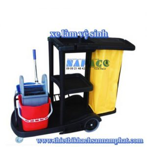Xe đẩy làm vệ sinh HC 180C