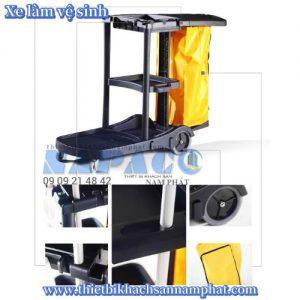 Xe dọn vệ sinh phòng HC 170A