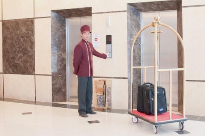 Xe đẩy hành lý kiểu dáng lồng chim